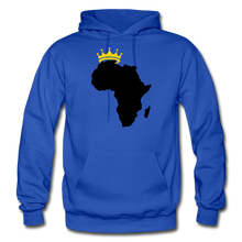 Load image into Gallery viewer, African Kings and Queens Men's Hoodie - royal blue