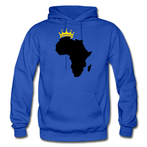 African Kings and Queens Men's Hoodie - royal blue