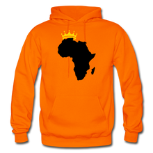 Load image into Gallery viewer, African Kings and Queens Men's Hoodie - orange