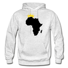 Load image into Gallery viewer, African Kings and Queens Men's Hoodie - light heather gray