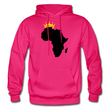 Load image into Gallery viewer, African Kings and Queens Men's Hoodie - fuchsia