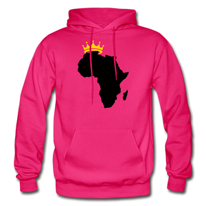 African Kings and Queens Men's Hoodie - fuchsia