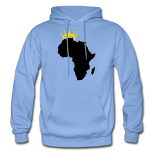 Load image into Gallery viewer, African Kings and Queens Men's Hoodie - carolina blue
