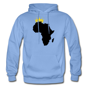 African Kings and Queens Men's Hoodie - carolina blue