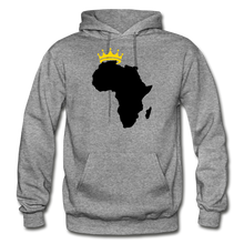 Load image into Gallery viewer, African Kings and Queens Men's Hoodie - graphite heather