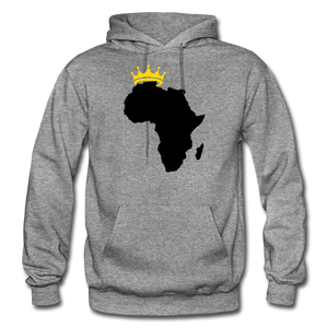 African Kings and Queens Men's Hoodie - graphite heather