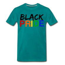 Load image into Gallery viewer, Black Pride Men's Premium T-Shirt - teal