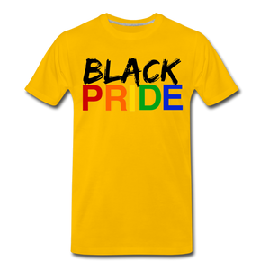 Black Pride Men's Premium T-Shirt - sun yellow
