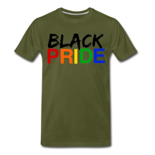 Load image into Gallery viewer, Black Pride Men's Premium T-Shirt - olive green