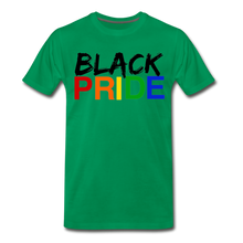 Load image into Gallery viewer, Black Pride Men's Premium T-Shirt - kelly green