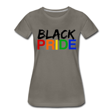 Load image into Gallery viewer, Black Pride Women's Premium T-Shirt - asphalt gray
