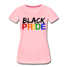 Load image into Gallery viewer, Black Pride Women's Premium T-Shirt - pink