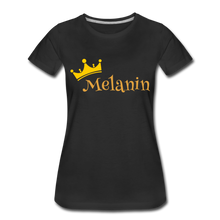 Load image into Gallery viewer, Melanin Queen Premium T-Shirt - black