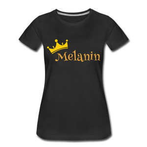 Melanin Queen Premium T-Shirt - black