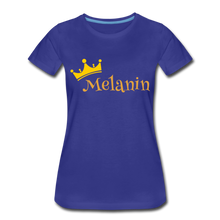Load image into Gallery viewer, Melanin Queen Premium T-Shirt - royal blue