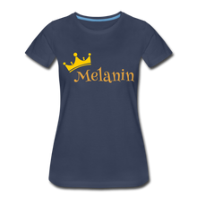 Load image into Gallery viewer, Melanin Queen Premium T-Shirt - navy