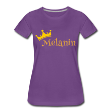 Load image into Gallery viewer, Melanin Queen Premium T-Shirt - purple