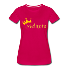 Load image into Gallery viewer, Melanin Queen Premium T-Shirt - dark pink