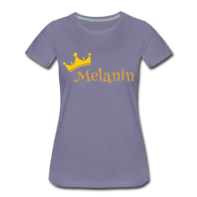 Load image into Gallery viewer, Melanin Queen Premium T-Shirt - washed violet