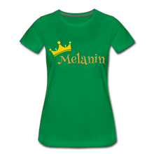 Load image into Gallery viewer, Melanin Queen Premium T-Shirt - kelly green
