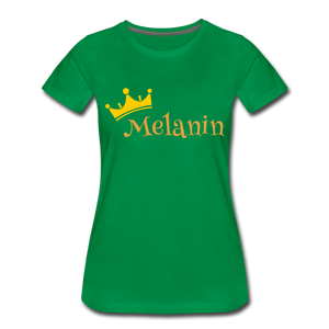 Melanin Queen Premium T-Shirt - kelly green