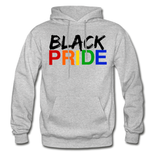 Load image into Gallery viewer, Black Pride Adult Hoodie - heather gray
