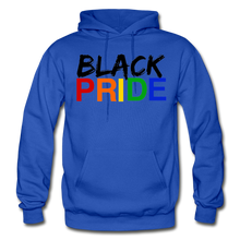 Load image into Gallery viewer, Black Pride Adult Hoodie - royal blue