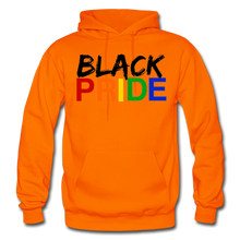 Load image into Gallery viewer, Black Pride Adult Hoodie - orange