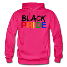 Load image into Gallery viewer, Black Pride Adult Hoodie - fuchsia