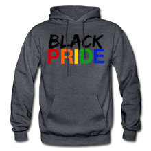 Load image into Gallery viewer, Black Pride Adult Hoodie - charcoal gray