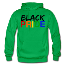 Load image into Gallery viewer, Black Pride Adult Hoodie - kelly green