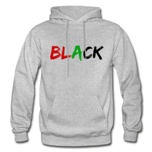 Load image into Gallery viewer, Black Men's Premium Hoodie - heather gray