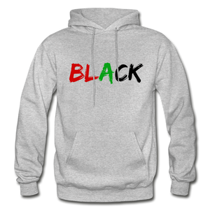 Black Men's Premium Hoodie - heather gray