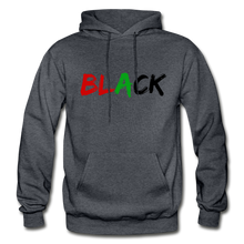 Load image into Gallery viewer, Black Men's Premium Hoodie - charcoal gray
