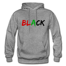 Load image into Gallery viewer, Black Men's Premium Hoodie - graphite heather