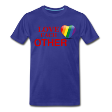 Load image into Gallery viewer, Love Each Other Men's Premium T-Shirt - royal blue