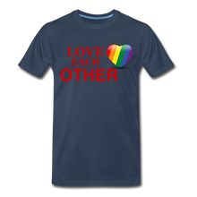 Load image into Gallery viewer, Love Each Other Men's Premium T-Shirt - navy