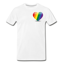 Load image into Gallery viewer, Pride Men's Premium T-Shirt - white