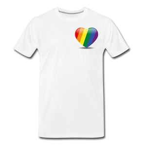 Pride Men's Premium T-Shirt - white