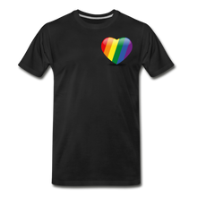 Load image into Gallery viewer, Pride Men's Premium T-Shirt - black