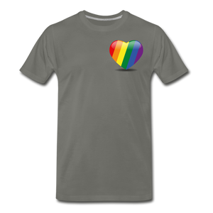 Pride Men's Premium T-Shirt - asphalt gray