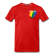 Load image into Gallery viewer, Pride Men's Premium T-Shirt - red