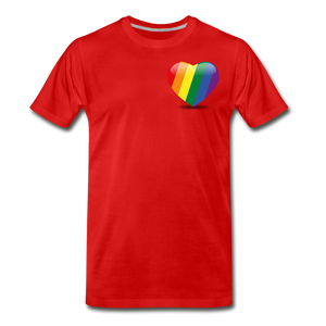 Pride Men's Premium T-Shirt - red