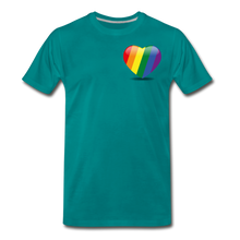 Load image into Gallery viewer, Pride Men's Premium T-Shirt - teal