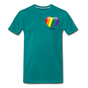Pride Men's Premium T-Shirt - teal