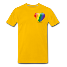 Load image into Gallery viewer, Pride Men's Premium T-Shirt - sun yellow