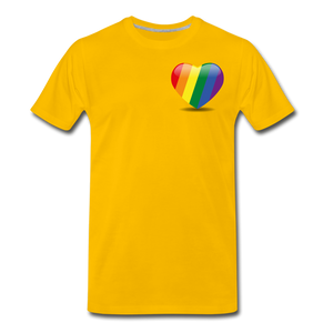 Pride Men's Premium T-Shirt - sun yellow