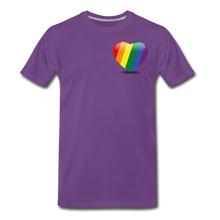 Load image into Gallery viewer, Pride Men's Premium T-Shirt - purple