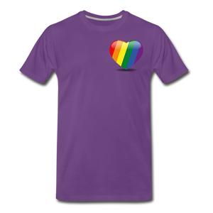 Pride Men's Premium T-Shirt - purple