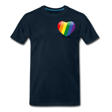 Load image into Gallery viewer, Pride Men's Premium T-Shirt - deep navy